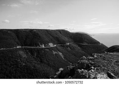 The Skyline Trail in Cape Breton, Nova Scotia.