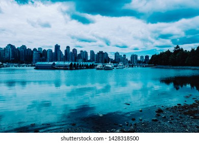Skyline of Vancouver, British Columbia, Canada