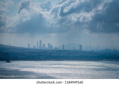 Skyline view from the Galata Tower in Istanbul