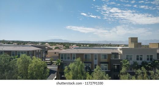 Skyline view of Henderson Nevada.
