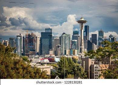Skyline view of Seattle Washington