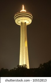 The Skylon tower at Niagara Falls, Canada