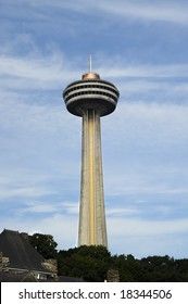 Skylon Tower at Niagara Falls, Ontario, Canada
