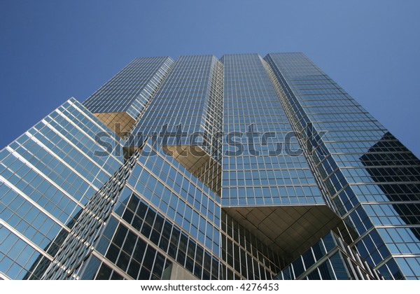Skyscraper Abstract Reflective Modern Architecture Stock Photo ...