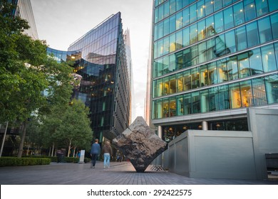 Skyscraper Business Office, Corporate building in London City, England, UK.