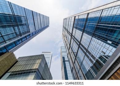 The skyscraper is in chengdu, China