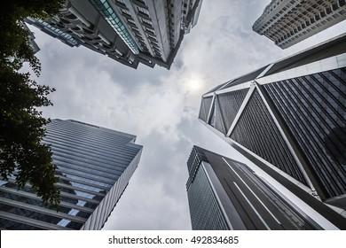 Skyscraper in Kuala Lumpur, Malaysia