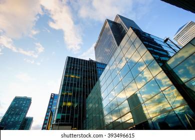 Skyscraper Office business building London