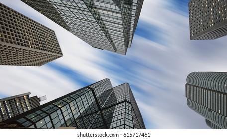 Skyscrapers in Asia