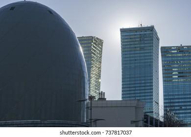 Skyscrapers in Astana city centre, Kazakhstan
