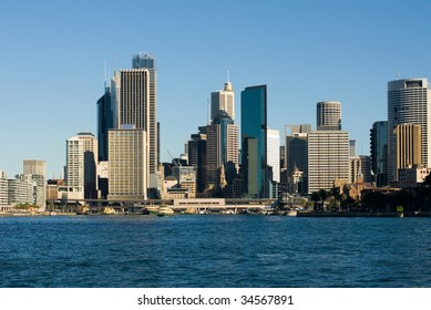Skyscrapers in the Central Business District of Sydney, Australia