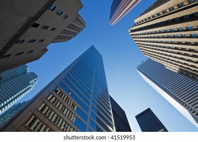 Skyscrapers in downtown Toronto, Canada