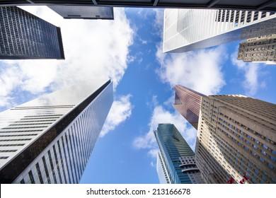 Skyscrapers in downtown Toronto, Ontario, Canada