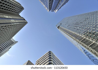 skyscrapers in downtown vancouver bc