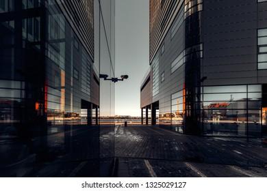 skyscrapers in Gdynia
