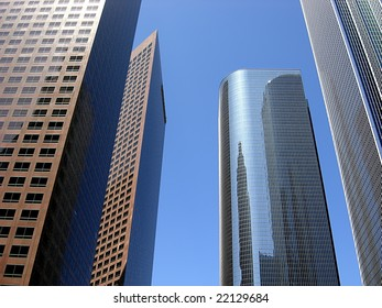 Skyscrapers in Los Angeles Downtown