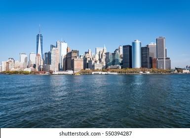 Skyscrapers at Lower Manhattan, New York