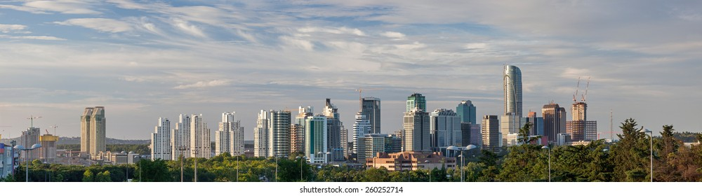 Skyscrapers in Maslak Istanbul