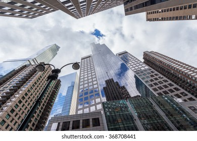 Skyscrapers Midtown Manhattan New York City, United States, April 27, 2014.