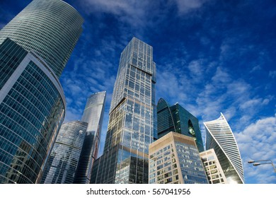Skyscrapers of the Moscow City International Business Center, Moscow, Russia