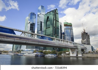 Skyscrapers of the Moscow International Business Center (MIBC) MIBC is a unique city-building construction project and biggest in Europe