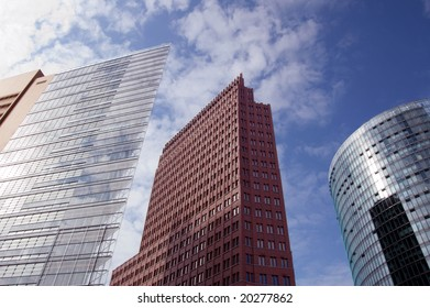 skyscrapers on Potsdamer Platz, Berlin
