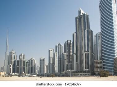 skyscrypers in Dubai