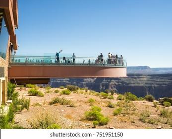 Skywalk Grand Canyon West Rim - Arizona, AZ, USA