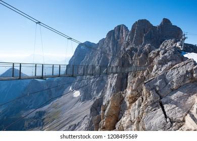 Skywalk on Dachstein, Schladming-Dachstein, Austria, Europe