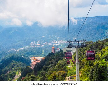 skyway cable car, genting, malaysia