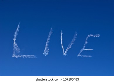 Skywriting 'Live' 05-03-12