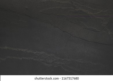 Slab of black stone for backgrounds