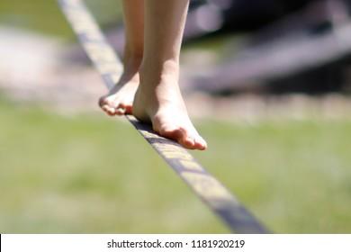 slack line sport
