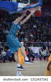 """Slamdunk. All Star Game Highlights at UKRAINE SUPERLEAGUE ALL STAR GAME, Match of the Stars - 2019, 26/01/2019, Palace of Sports """"Youth"""", Zaporozhye, Ukraine"""
