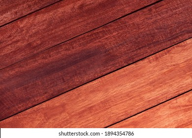 Slant brown wood planks texture High quality background made of dark natural wood in grunge style. copy space for your design or text. layout composition with Surface pattern concept