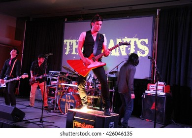 The Slants band at the Newcon 3 Convention Portland OR USA 1-2-15.