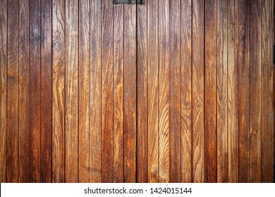 Slat wall, wood texture background for decoration.