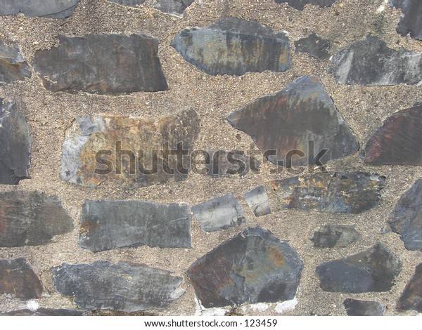 Slate feature wall background