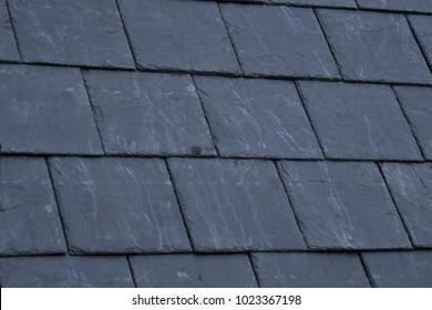 slate on the roof