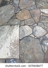 Slate Rock Walkway Background