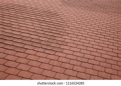 slate roof surface