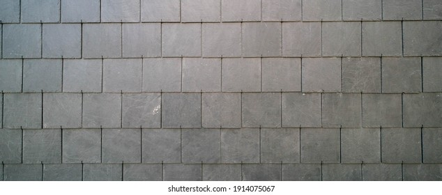 slate roof tiles background high quality photo
