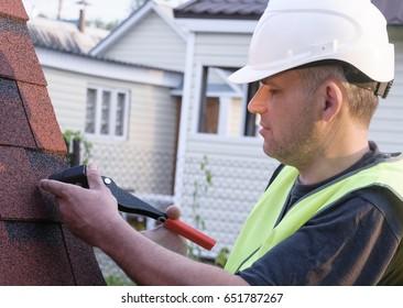 Slater, Roofing work