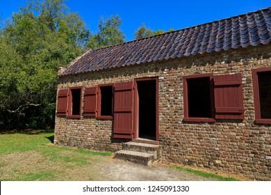 Slave Quarters at Boone Hall Plantation in South Carolina