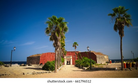 Slavery fortress on Goree island at Dakar, Senegal