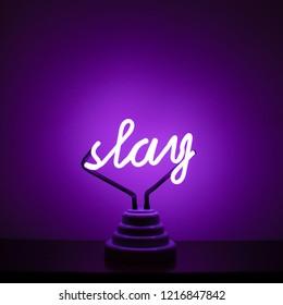 Slay Neon Sign