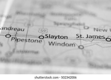 Slayton, Minnesota, USA.