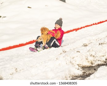 Sledding, sledging or sleighing is a worldwide winter activity, typically carried out in a prone or seated position on a vehicle generically known as a sled