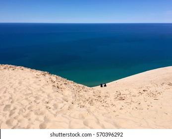Sleeping Bear Dunes National Lakeshore, Lake Michigan.