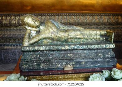 Sleeping Buddha in Bangkok Thailand
